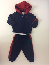 Ralph Lauren Baby Boys Jogging Tracksuit, Age 9 Months, 9m, Blue, Vgc