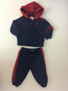 51b1a5e41 Image is loading Ralph-Lauren-Baby-Boys-Jogging-Tracksuit-Age-9-