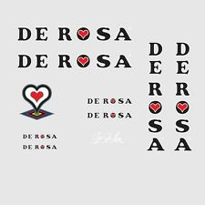 Decals Transfers 01128 De Rosa Bicycle Stickers