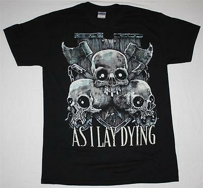 AS I LAY DYING SKULLS METALCORE ALL THAT REMAINS PARKWAY DRIVE NEW BLACK T-SHIRT