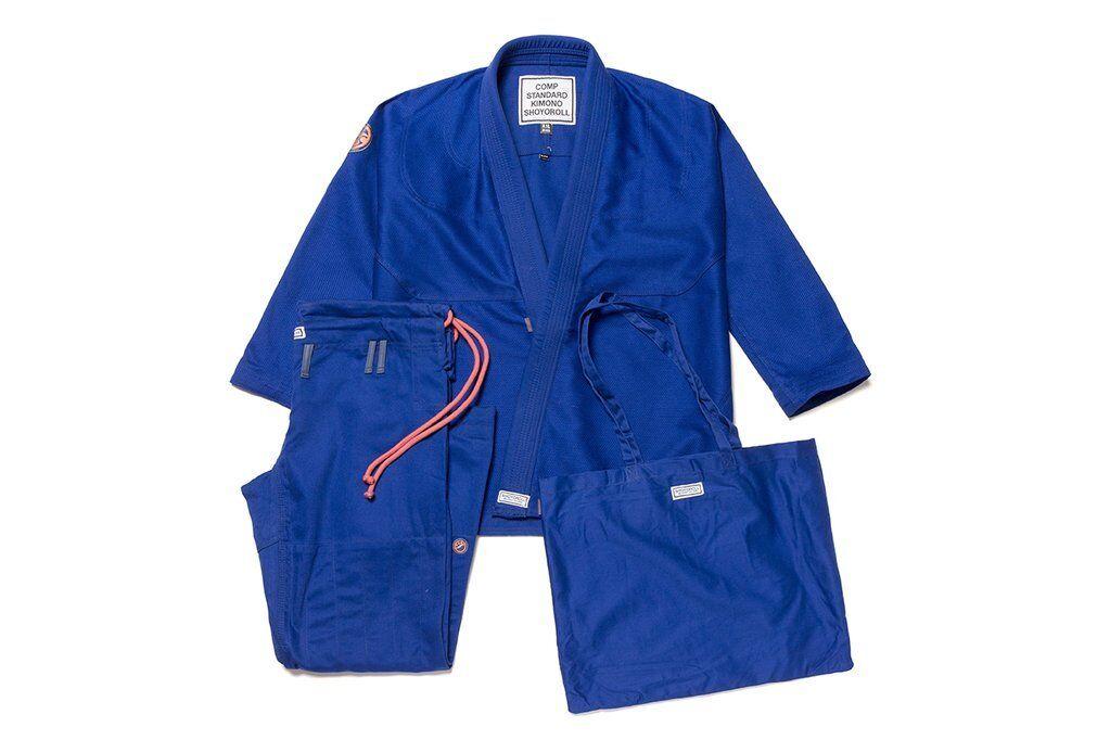 Shoyoroll Comp Estándar XVIII Q1 Azul Nuevo a Estrenar Bjj Kimono Gi