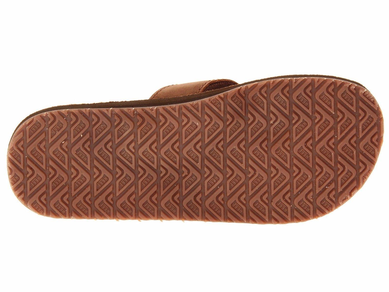 Reef Reef Reef Uomo Sandali di Cuoio Smoothy Bronzo Classico Marronee RF000232 100% | Più economico del prezzo  | Sig/Sig Ra Scarpa  1afcfa