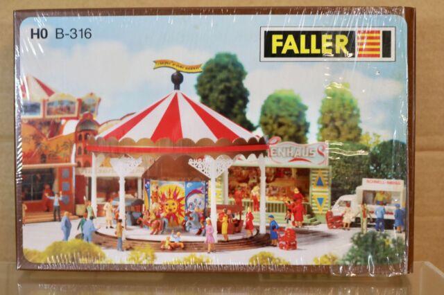 Faller 140446 Fairground Booths 2HO Scale Building Kit Sonstige