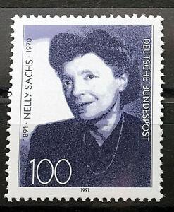 Bund-BRD-Michel-Nr-1575-Postfrisch-1991-Nelly-Sachs
