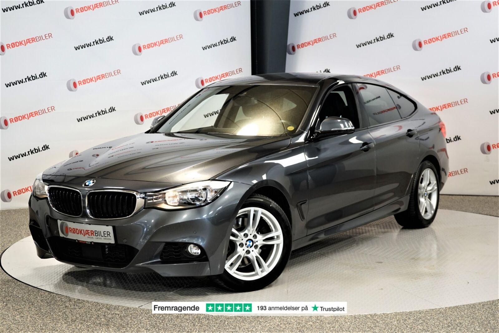 BMW 330d 3,0 Gran Turismo M-Sport xDrive 5d - 399.900 kr.