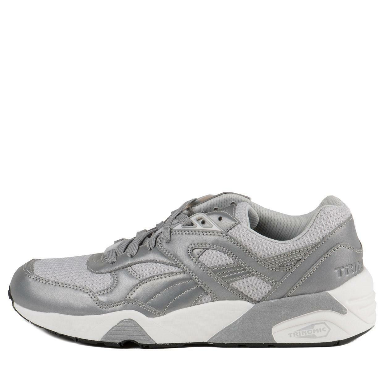Puma R698 Reflective   358635 01 Metallic grau Men Sz 7.5 - 10