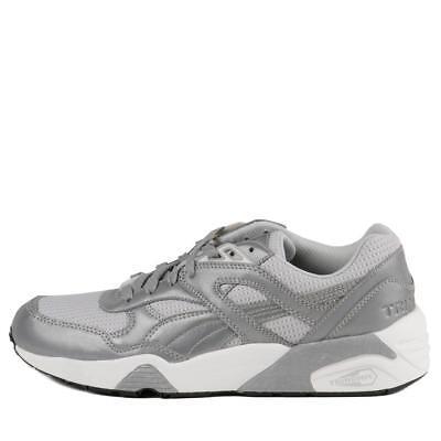 358635 01 Metallic Grey Men Sz 7.5