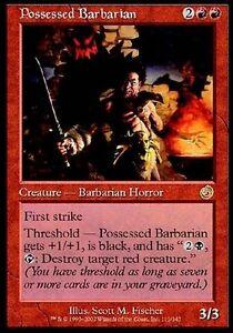 Barbaro-Possessed-Possessed-Barbarian-MTG-MAGIC-TOR-Torment-Ita-Eng