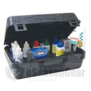 Lamotte 2064 Colorq Pro 7 Plus Photometer Pool Test Kit Color Q Ebay