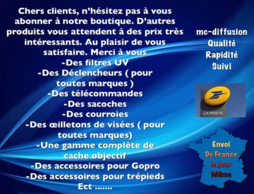 Porte Bouchons D/'objectifs 52//58//67 mm Adaptable Sur Courroie
