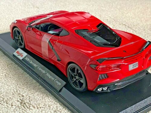 Maisto Special Edition 2020 Chevrolet Corvette C8 Stingray 1:18 Diecast RED