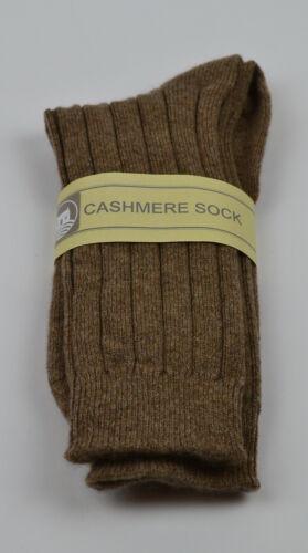 Beige 7 8 9 10 11 12 Scottish Cashmere Mens Socks Brown Navy Black Grey