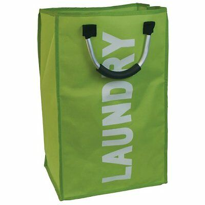 Laundry Washing Clothes Linen Basket Hamper Bag Diamante Bags Storage Aluminium