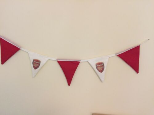 Hand Made Bunting Arsenal Football Club