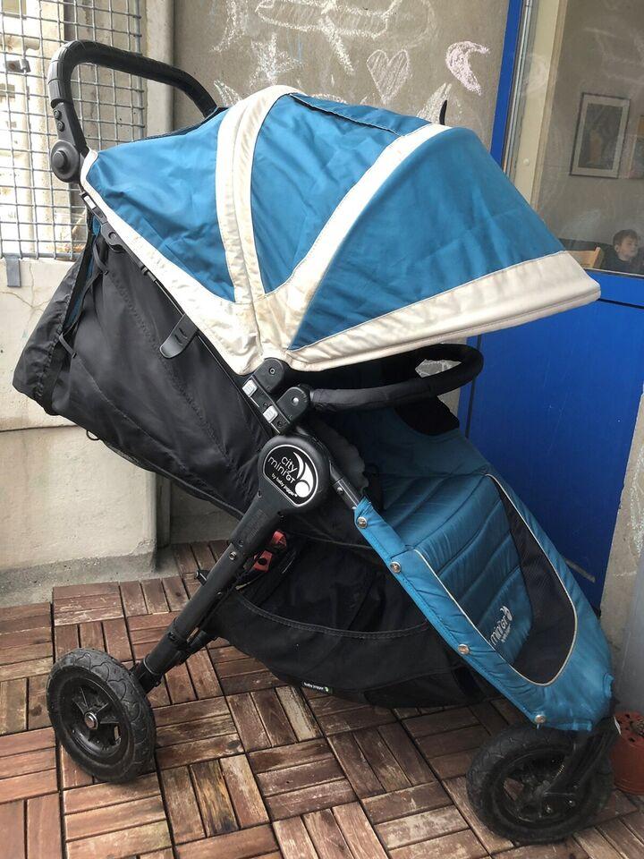 Klapvogn, Baby Jogger City Mini GT inkl. rejsetaske