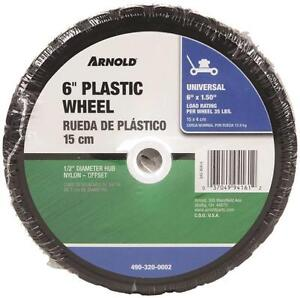 "NEW ARNOLD 650-P 6"" X 1.50"" LAWN MOWER WHEEL 6967285"