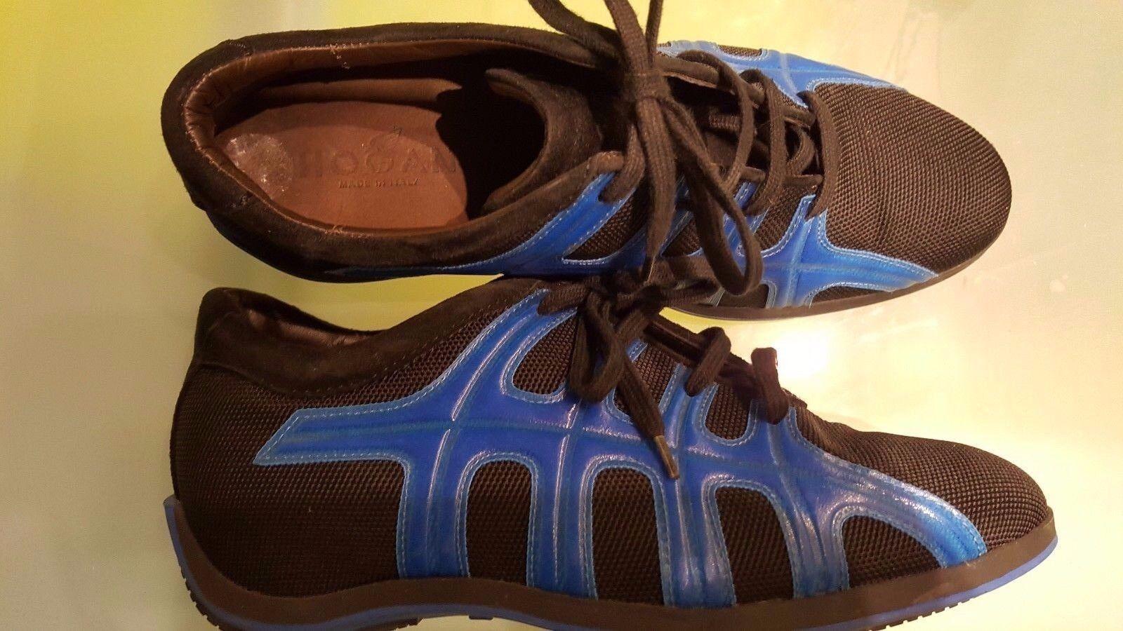 HOGAN by Tod's - Sneaker   Schuhe ,Gr.  Sneaker 37 schwarz - blau  neuw. 1b4504