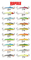 Rapala Jigging Rap W9 Ice Jig 3 1/2 (9 Cm) Select Colors