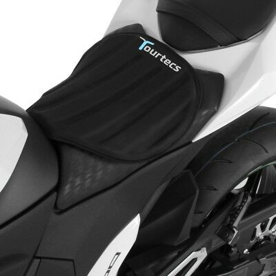 Tourtecs Seat Cushion Air Deluxe M for BMW R 1250 GS//Adventure black