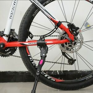 Mountain Bike Kick Stand Kids Bicycle Kickstand Heavy Duty Adjustable Rear Side