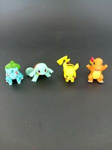 2015 Tomy  Pokemon Lot of 4 Action Figures