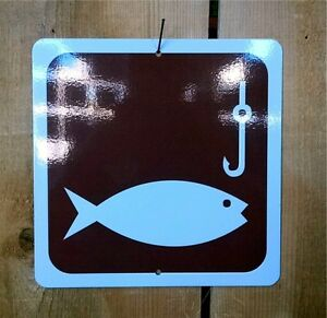 Fish-Fishing-Recreation-Symbol-Highway-Route-Sign