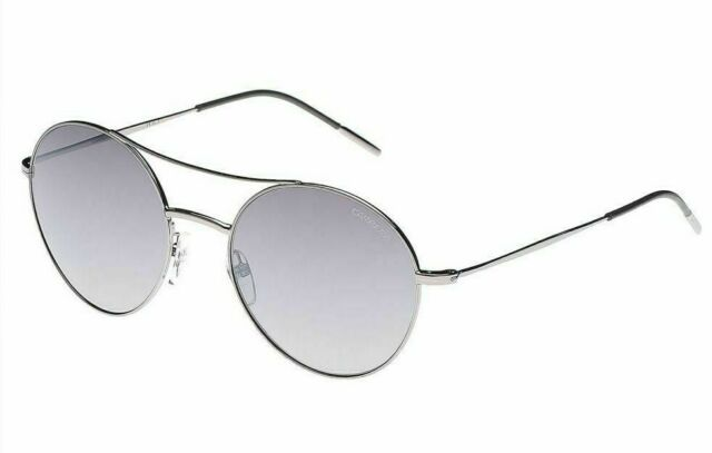 5920c88258a0 New Carrera 107/S 6LB Ruthenium Flash Silver Mirror 53mm Unisex Round  Sunglasses