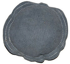 """5"""" Gray Round Leather Bench Block Pad For Chasing Stamping Forming Metal"""