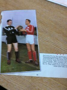T14 Ephemera 1965 Football Picture Bill Lynch John Mckinley Wilmorton Alvaston - Leicester, United Kingdom - Returns accepted Most purchases from business sellers are protected by the Consumer Contract Regulations 2013 which give you the right to cancel the purchase within 14 days after the day you receive the item. Find out more abou - Leicester, United Kingdom