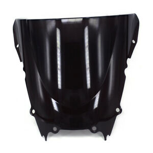ABS Black Windshield Windscreen Screen For YZFR6 1998-2002 Road Motorcycle New