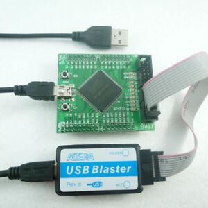 Details about EP4CE6E22 FPGA Dev Board + USB Blaster Programmer Altera  Cyclone IV EP4CE6 CPLD