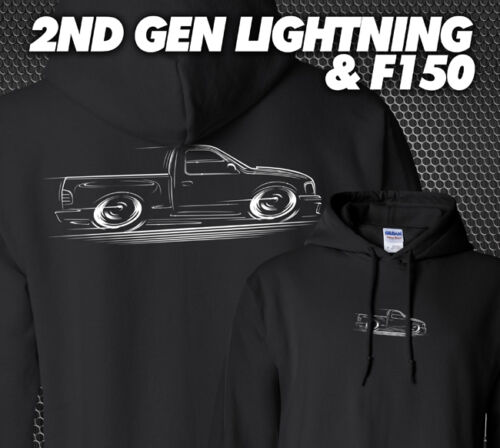 F-150 Truck and Lightning Hoodie SVT 1999 2000 2001 2002 2003 2004 Ford