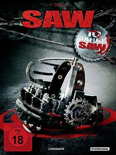 7 DVDs * SAW - KOMPLETT BOX  - TEIL 1 2 3 4 5 6 7 ~ I - VII ~ FSK 18 # NEU OVP /