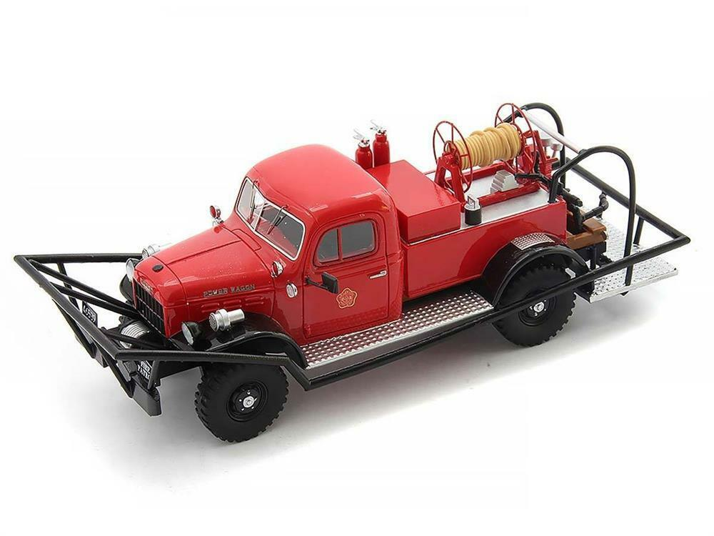 1946 Dodge WDX Power Wagon Brush Breaker in 1 43 Scale by Autocult
