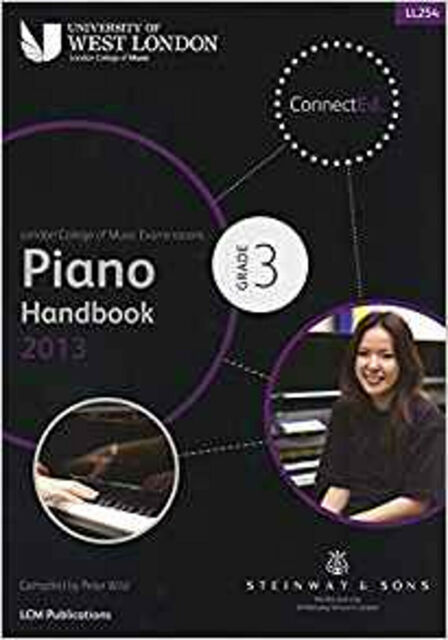 Lcm Piano Handbook 2013-2017 Grade 3, New, London College Of Music Book