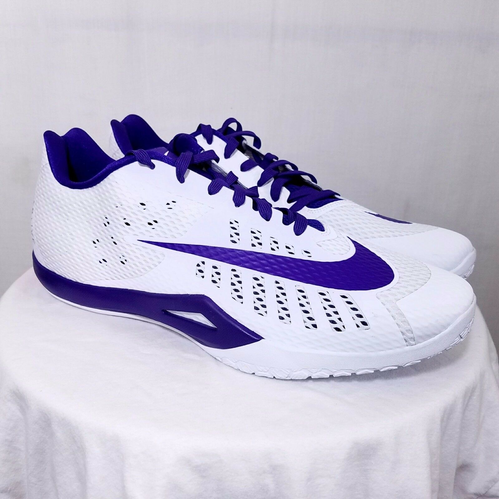 Nike Hyperlive TB Mens Basketball shoes Sneakers 834488 150 Low Purple US 17.5