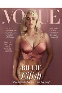 BILLIE EILISH VOGUE UK Magazine June 2021 BILLIE EILISH PHOTO COVER INTERVIEW
