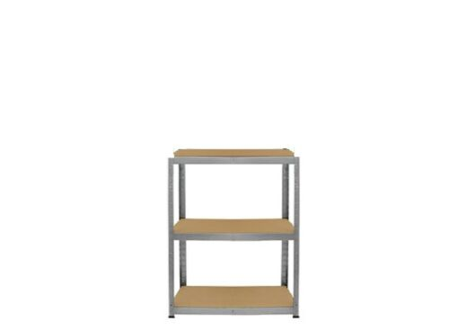 2,3,5 Tier Garage Shed Racking Storage Shelving Units Boltless Heavy Duty Shelf