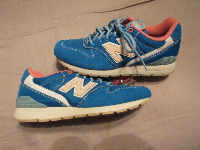 NWOB New Balance 996 MRL996GA Classic Running Shoe Blue Coral Size 6 BRAND NEW