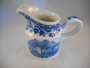 Wonderful-Creamer-Cream-Pitcher-Villeroy-amp-Boch-Blue-Castle-Pattern-Floral