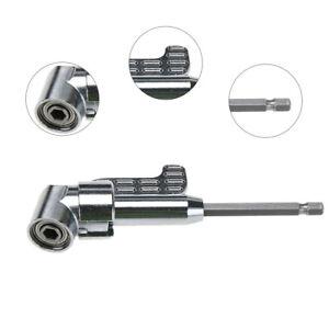 Winkelschrauber-Vorsatz-105-Grad-Winkelaufsatz-Akkuschrauber-Bithalter-1-4-034-Bit