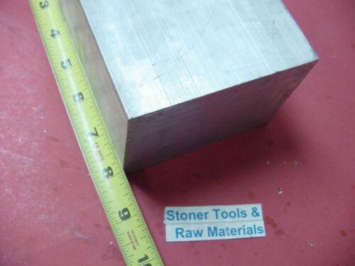 "3/"" X 3-1//2/"" ALUMINUM 6061 FLAT BAR 8/"" LONG SOLID T6511 3.00/"" Plate Mill Stock"