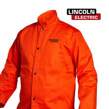 Genuine Lincoln K4688 M Orange Fr Cloth Welding Jacket Size Medium