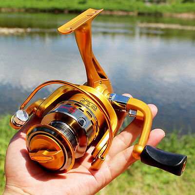 Spinning Fishing Reel Left/Right Hand 13+1BB 5.5:1 Bass Carp Fishing Tackle Reel
