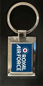 Royal-Air-Force-logo-high-polished-metal-keyring