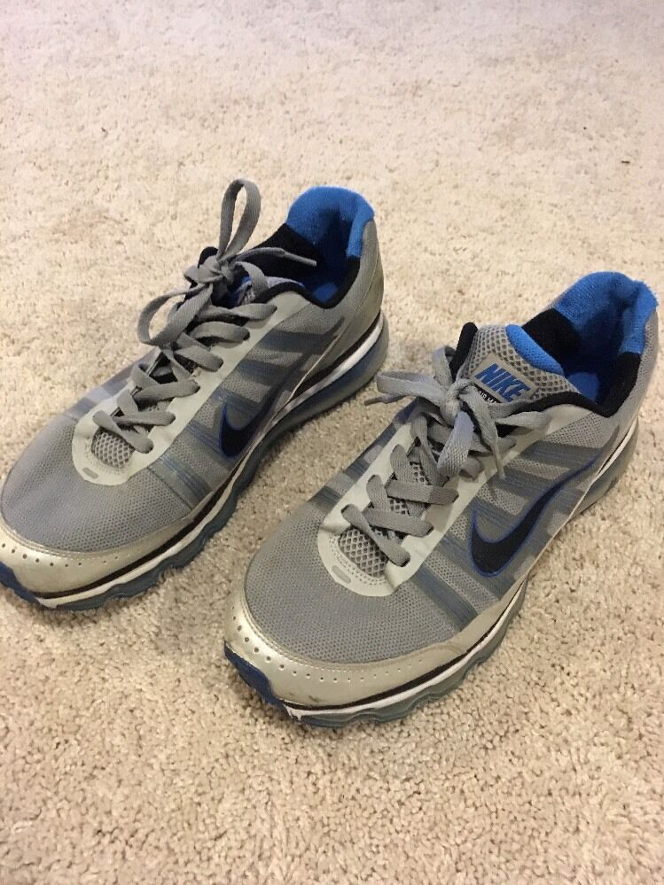 Nike Air Max Wolf Grey bluee 621077-020 Running shoes Mens Us 12 M