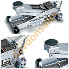 3 Ton Floor Jack Aluminum Steel Low Profile Lifting Racing Quick Pump Car Garage
