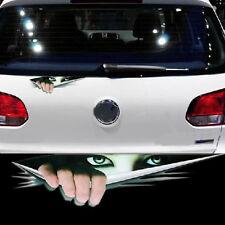 3D Peeking Car Vinyl Sticker Truck Window Door Decor Thriller Rear Window Decals