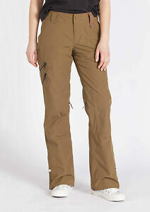 2013-NWT-WOMENS-HOLDEN-AVERY-SNOWBOARD-SKI-PANTS-M-olive