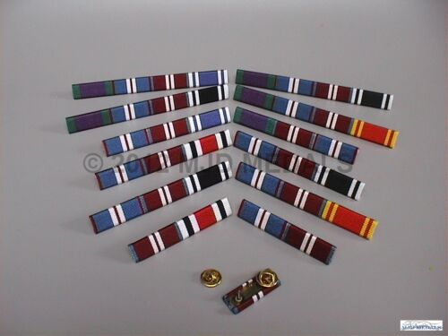 GOLDEN JUBILEE POLICE LONG SERVICE MEDAL RIBBON BAR GSM DIAMOND JUBILEE
